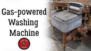 Gas-Powered Antique Maytag Washing Machine [Restoration]