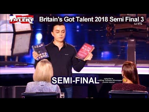 Marc Spelmann  Magician MAGICALLY EMOTIONAL Britain's Got Talent 2018 Semi Final 3 BGT S12E10 (видео)