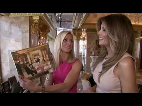 One-on-one with Melania Trump in Trump Tower