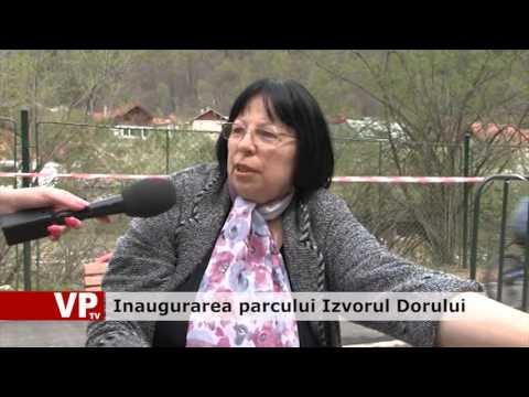 Inaugurarea parcului Izvorul Dorului
