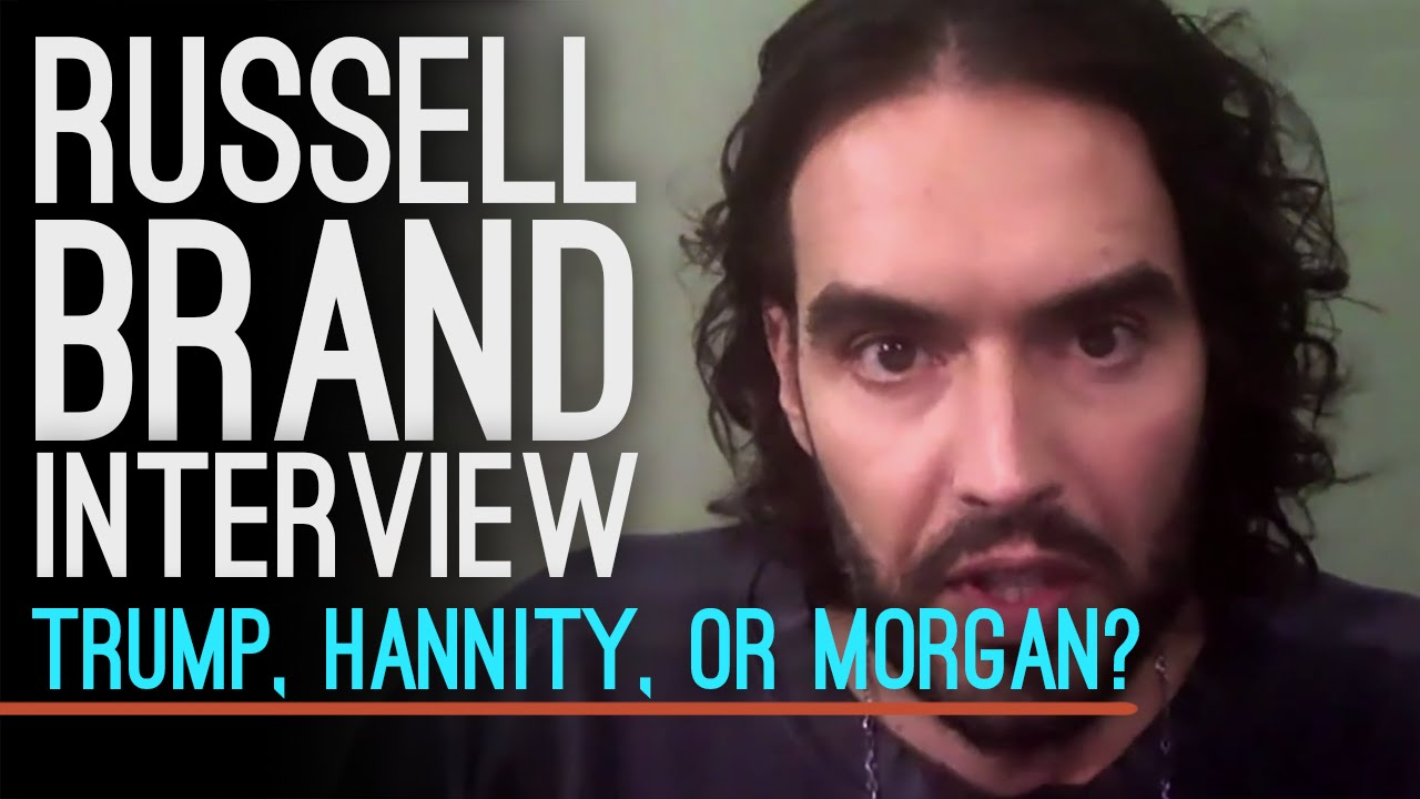 Russell Brand Must Choose: Trump, Hannity Or Piers Morgan? His Answer Is Perfect thumbnail
