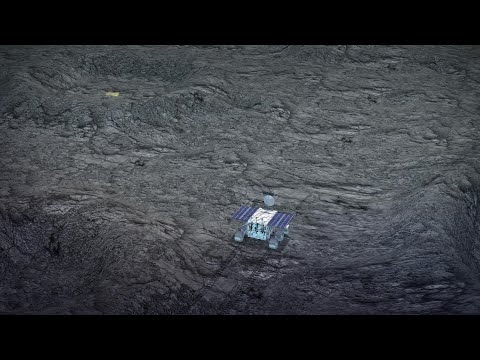 China's lunar rover discovers gel-like substance on far side of the moon