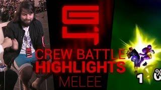 Genesis 4 - Super Smash Bros. Smash Melee Draft Crews Highlights - By Remzi H.