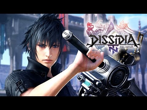 Dissidia Final Fantasy NT ? The Movie / All Cutscenes + Complete Story ?English / 1080p HD?