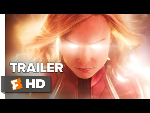 captain marvel trailer 1 2019 movieclips trailers
