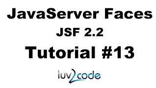 JSF Tutorial #13 - Java Server Faces Tutorial (JSF 2.2) - JSF Forms and Drop-Down Lists