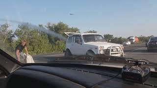 На Вольском тракте столкнулись два отечественных авто