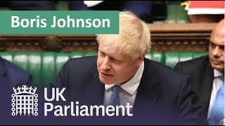 Video Prime Minister Boris Johnson's first House of Commons Statement:  25 July 2019 MP3, 3GP, MP4, WEBM, AVI, FLV Agustus 2019