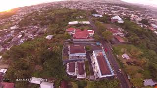 FPV DRONE FREESTYLE - MANADO BAY SUNSET - RAWFILE - (UNCUT FOOTAGE #28)