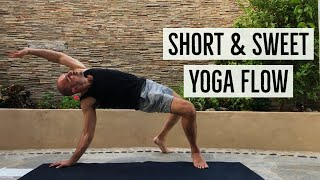20 Minute Energizing Yoga Flow with Antranik (Free Yoga Class)