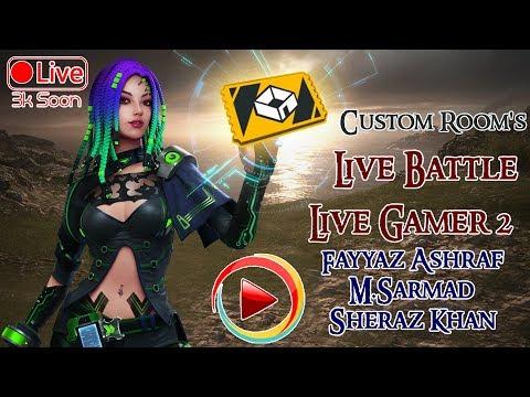 Friendly Custom Battle |Pak,Philipions&Malasiya | Free Fire LiveStream | LiveGamer2 Fayyaz Ashraf