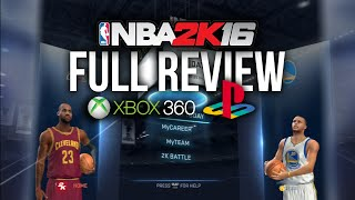 FULL NBA 2k16 PS3/360 Review (Last Gen VS Next Gen Comparisons + Gameplay)