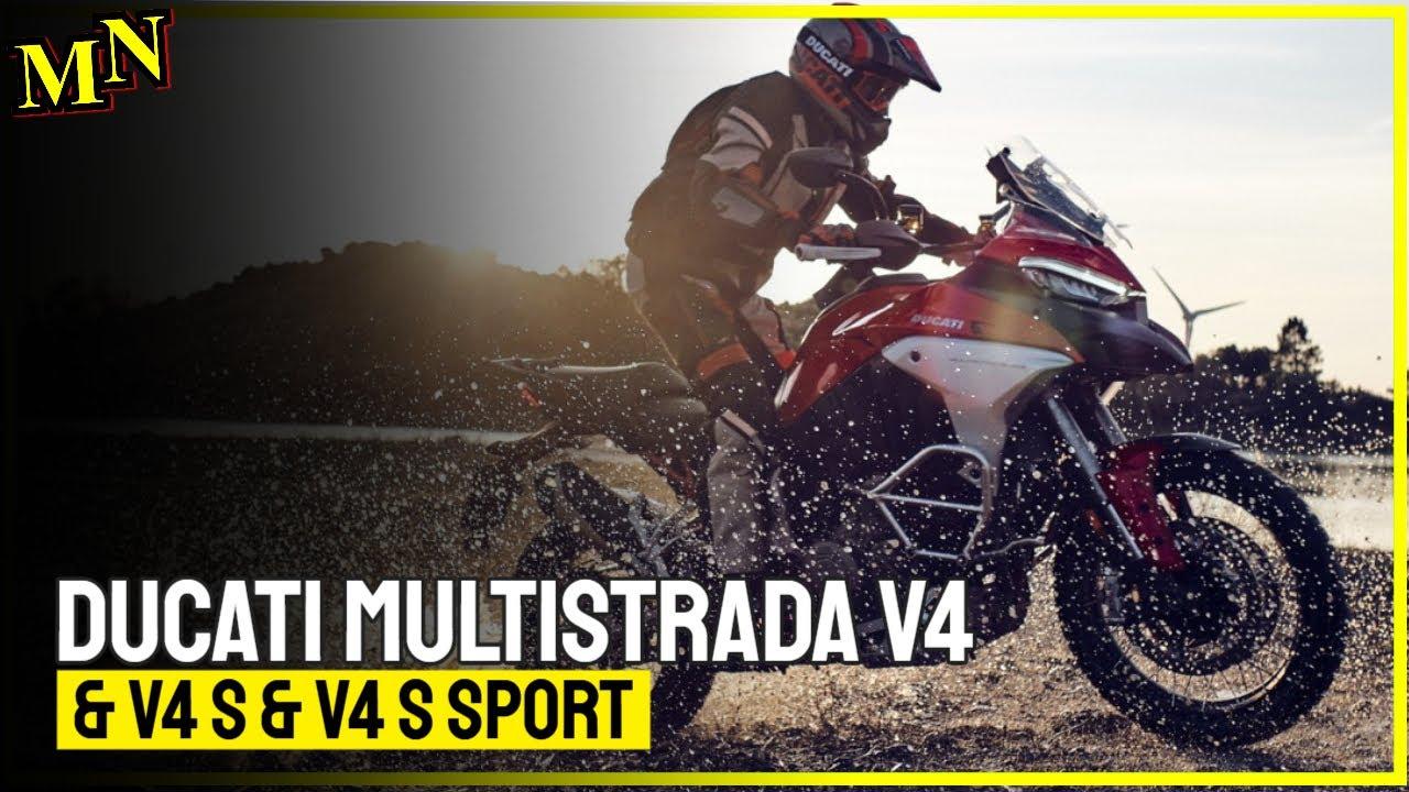 Presented - Ducati Multistrada V4 wants to dominate the roads