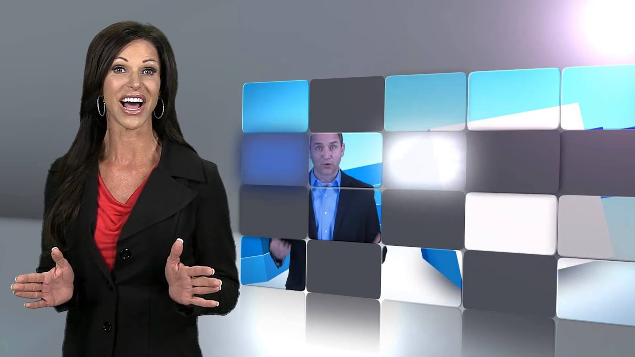 Custom Video Presentation Example - 'Grid Science'