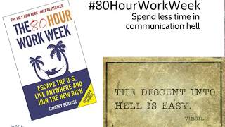 Better Group Communication with #80 Hour Workweek