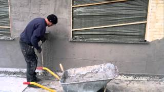 Pudsning af vægge