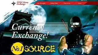 Ninja Money Exchange in Tokyo Japan!