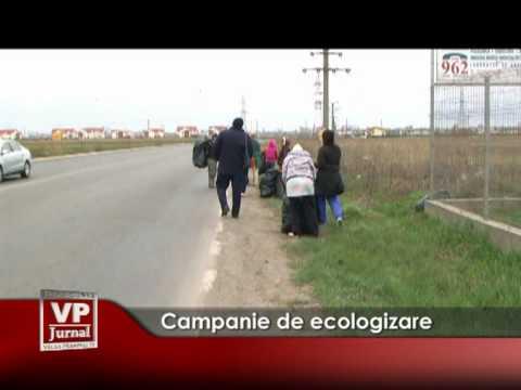 Campanie de ecologizare