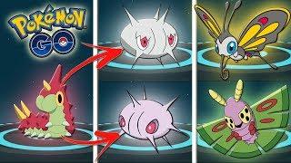 Beautifly  - (Pokémon) - ¡EVOLUCIÓN WURMPLE a SILCOON BEAUTIFLY y a CASCOON DUSTOX en Pokémon GO! NO HAY TRUCO! [Keibron]