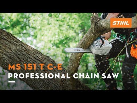 Stihl MS 151 T C-E in Greenville, North Carolina - Video 1