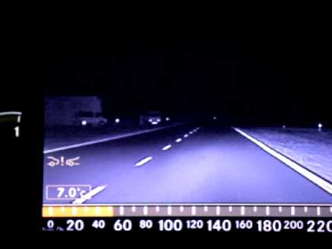 Mercedes-Benz S-Class Night View Assist Feature Video