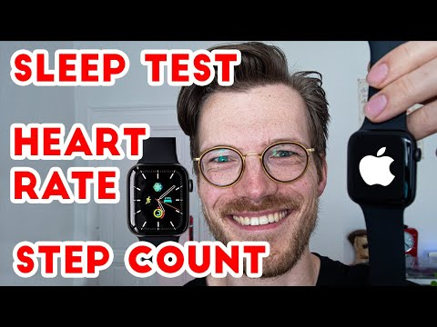 Apple Watch 6 Accuracy (Sleep, Heart rate, Steps)