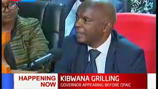 Gov. Kivutha Kibwana grilled by Committee on County Public Accounts
