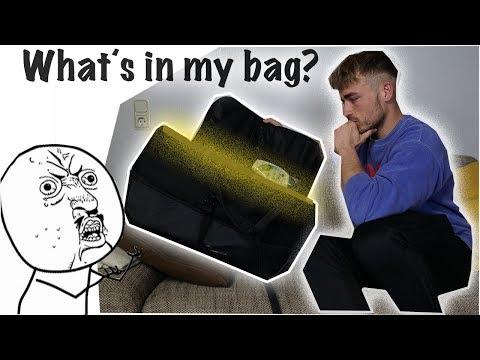 Was befindet sich in meiner Sporttasche? What´s in my sports bag?  #Goalkeeperhacks
