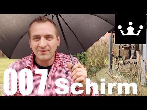 Automatik RegenSchirm ( man nennt mich auch James Bond )