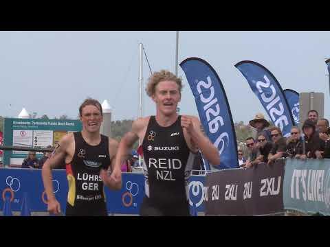 2018 ITU World Triathlon Gold Coast - U23/Jr Mixed Relay Highlights