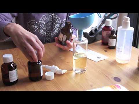 DIY: Oogmake-up Remover met amandelolie en bloemenwater
