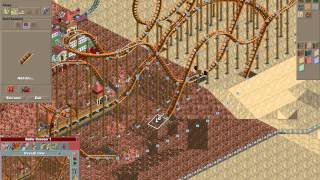 Rollercoaster Tycoon Loopy Landscapes #29 (Arid Heights: Teleporting Handydudes)