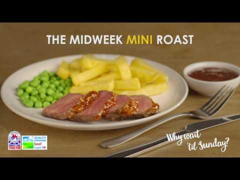 Mini Roast Beef with sticky glaze