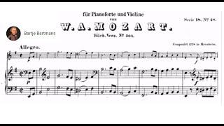 Mozart - Violin Sonata No. 21, E Minor, K. 304 [Szeryng/Haebler]