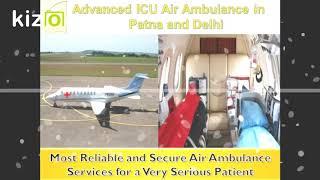 Choose Hi-tech ICU Medical Facility by Medivic Air Ambulance in Patna