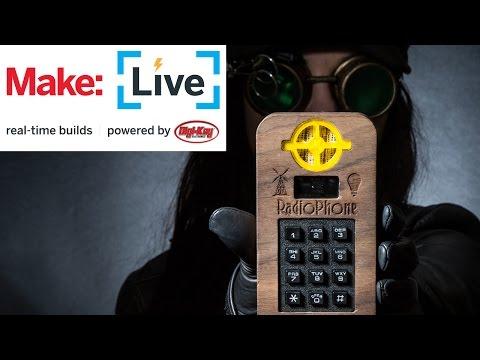 Make: Live - Dieselpunk Cellphone