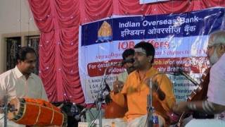 Carnatic vocal concert by Shenkottai Harihara Subramaniam