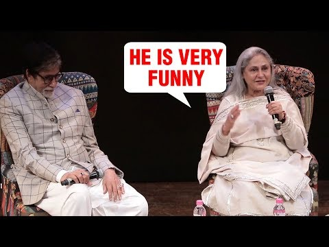 Jaya Bachchan Makes FUN Of Amitabh Bachchan