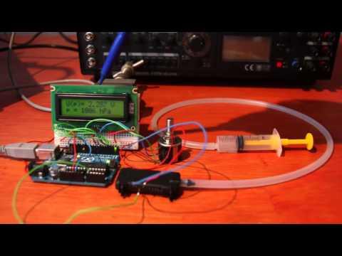 Drucksensor HS21, Arduino und Versuche