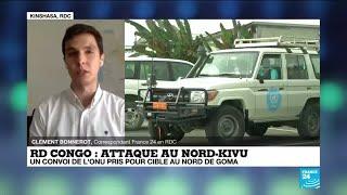 Atak w Norde- Kivu w DR Kongo: zabity ambasador Włoch i 2 inne osoby