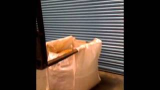 Smartlift Tunnel Lift FIBC Bulk Bag Demo.MOV