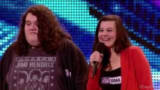 Jonathan and Charlotte - Opera Duo @ Britain's Got Talent 2012 Auditions