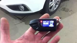 Hyundai IX35 2012г сигнализация Pandora 3970