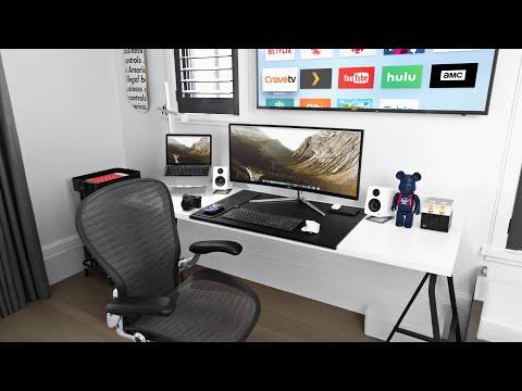 Modern Desk Setup Tour!