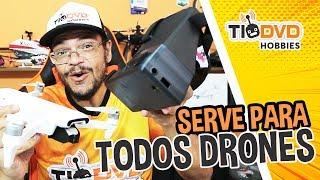 TESTE ÓCULOS FPV PARA DRONES COM APP ORIGINAL FIMI X8 SE HUBSAN ZINO JJRC X9 DJI MAVIC PHANTOM SPARK