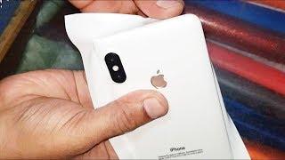 Как сделать из СЯОМИ  IPHONE? XIAOMI или IPhone X как отличить, подделка? Лайфхак