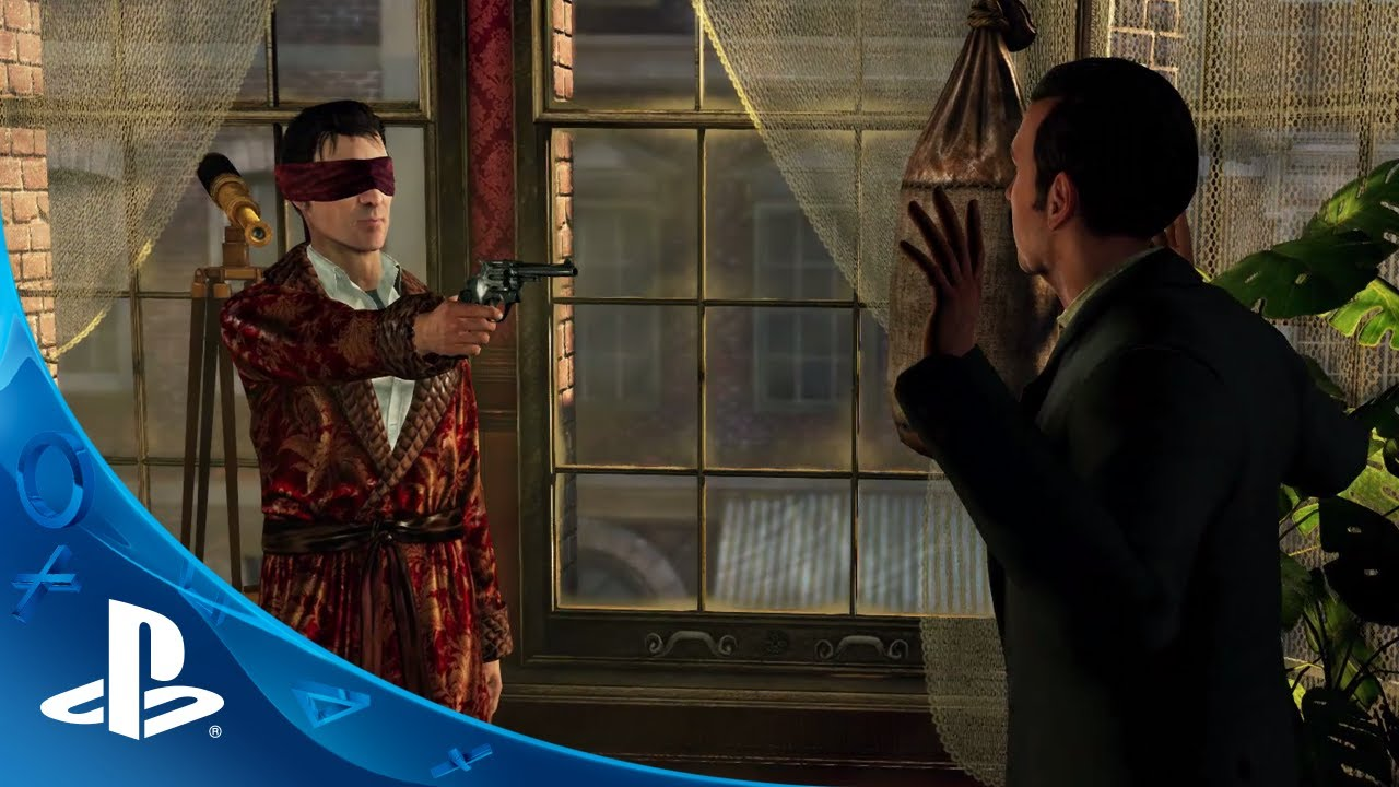 Sherlock Holmes: Crimes & Punishments Coming to PS3, PS4