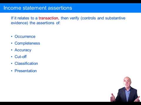 The Final Audit – the Assertions Revisited - ACCA Audit and Assurance (AA)