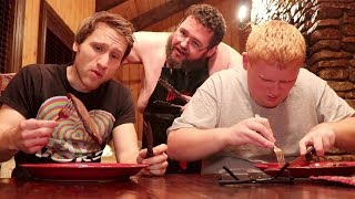 BOOGIE2988 TRIES TO EAT MCJUGGERNUGGETS!