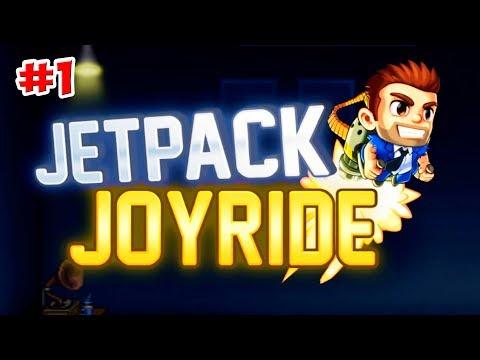 НАЧАЛО ! Jetpack Joyride (Джетпак Джойрайд) ИГРЫ НА АНДРОЙД ! 1 серия